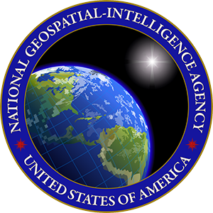 US National Geospatial-Intelligence Agency seal